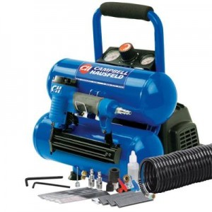 Air Compressor with Nailer and Accessory Kit