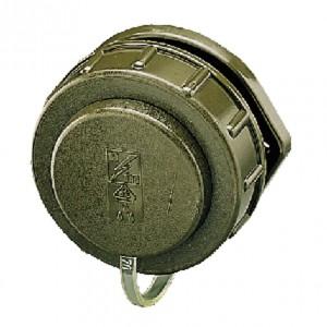 Panel mounted receptacle SCHUKO