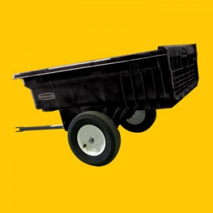 Structural Foam Tractor Cart