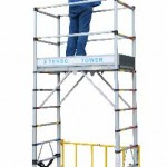 Telescopic scaffolding X-TENSO TOWER