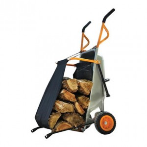 Wheelbarrow Firewood Carrier