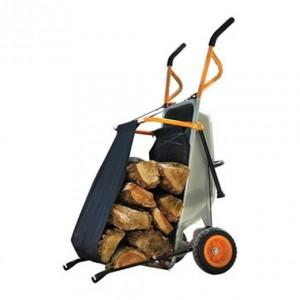 Wheelbarrow Firewood Carrier