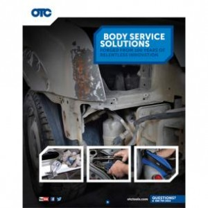 OTC BODY SERVICE SOLUTIONS CATALOG