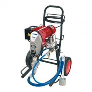 Airless electric piston spray equipment