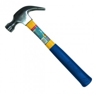 Claw Hammer - Fiberglass Handle
