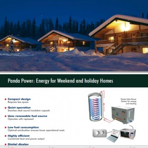 ENERGY FOR WEEKEND AND HOLIDAY HOMES
