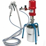 Electric and pneumatic equipment for dense and aggregate products