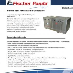 PANDA 150I PMS GENERATOR
