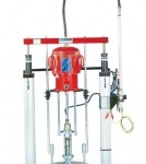 Pneumatic extrusion pumps & systems - Elevator - Follower plates