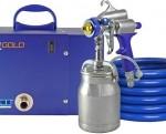Q4 Gold professional HVLP turbine system