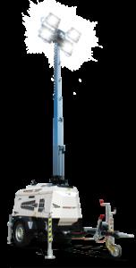 VT1 - Hydraulic mast tower light