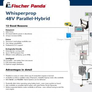 WHISPERPROP 48V PARALLEL-HYBRID