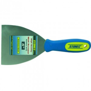 Wall Scraper - Rubber Grip Handle