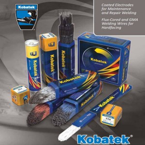 Kobatek Products for Maintenance and Repair Welding