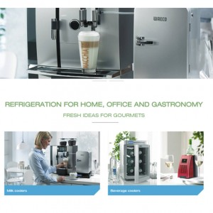 REFRIGERATION FOR HOME, OFFICE AND GASTRONOMY