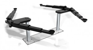 Swivel arm support
